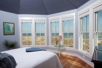 Bedroom at Bald Head Island.