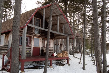 Winter time at The Birches Resort.