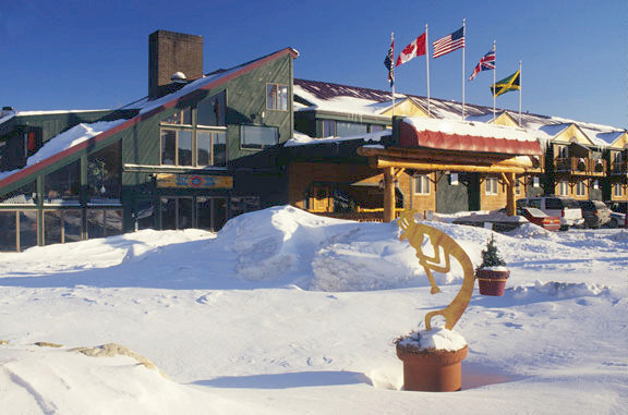 Winter time at The Mountain Inn.