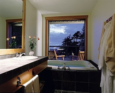 Suite Bathroom at Wickaninnish Inn