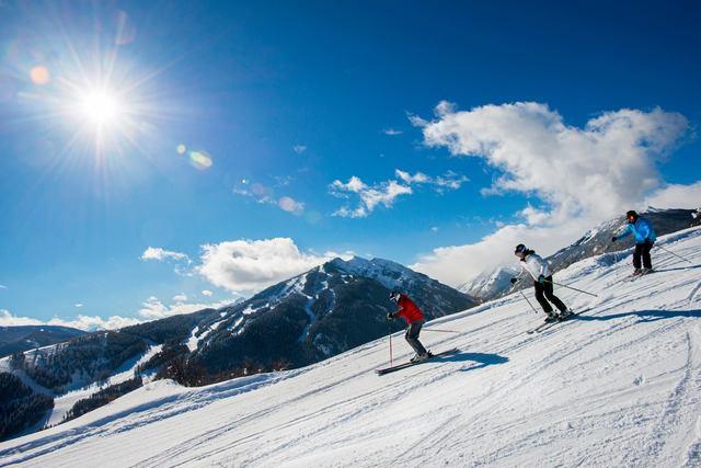 Skiing at Inn at Aspen.