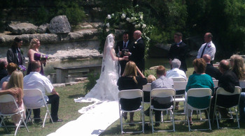 Weddings at Flying L Guest Ranch.