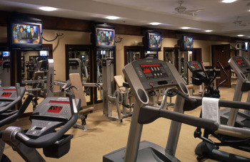 Fitness Center at Hyatt Regency