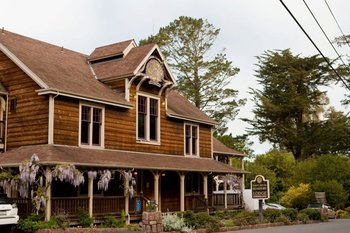 Exterior view of Point Reyes Seashore Lodge & Conference Center.