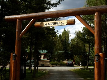 Welcome to Silverwolf Log Chalet Resort.