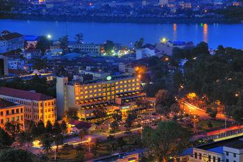 Exterior view of Sunway Hotel - Phnom Penh.