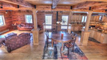 Vacation rental interior at SkyRun Vacation Rentals - Nederland, Colorado.