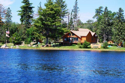 Pine point lodge resort motel crane lake mn resort for Sand point lodge
