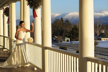 Bride at Mountain View Grand Resort