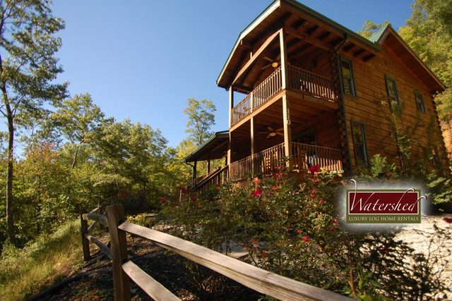Watershed cabins bryson city nc resort reviews for Privately owned cabins in the smoky mountains
