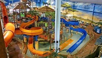Indoor Waterpark at Kalahari Waterpark Resort Convention Center
