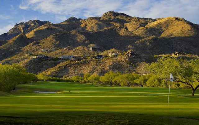 Golf course at The Lodge at Ventana Canyon.