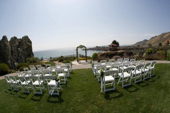Outdoor Ceremony at Shelter Cove Lodge