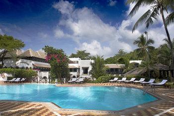 Outdoor pool at Mombasa Serena Beach Hotel.