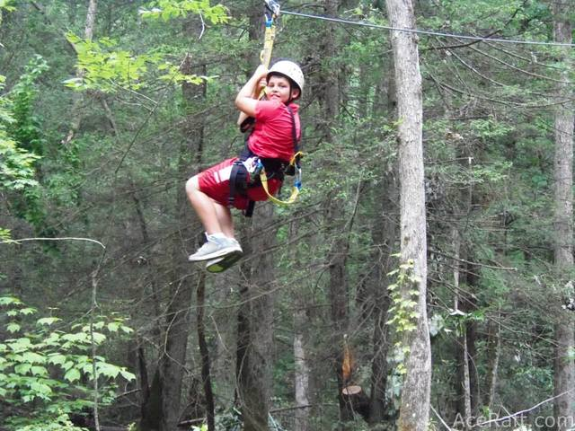 Zip Line at ACE Adventure Resort