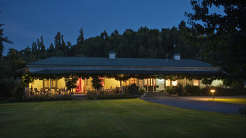 Exterior view of The Peppertree Luxury Accommodation.