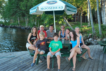 Family at The Birches Resort