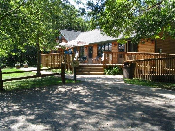 Jane's cottage at Ruttger's Bay Lake Lodge.