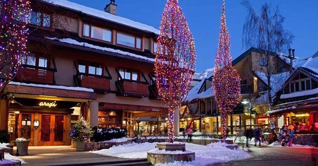 The holidays at Whistler Premier Resort.