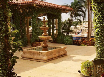Courtyard Fountain at Longboat Key Club