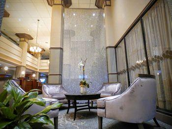 Lobby at The Sofia Hotel.