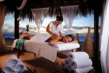 Spa massage at  Los Cabos Resort.