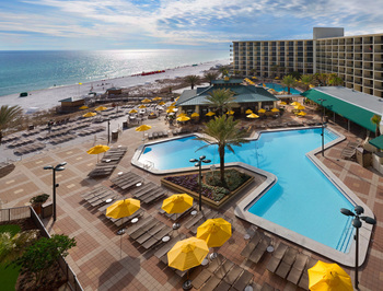 Outdoor pool at Hilton Sandestin Beach Golf Resort & Spa.