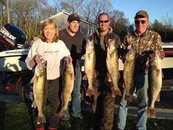 Fishing at Island Club Rentals.