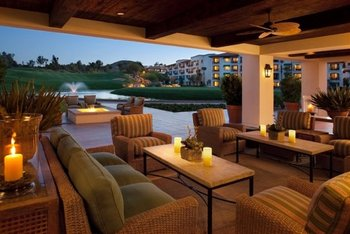Outdoor Lounge at Arizona Grand Resort
