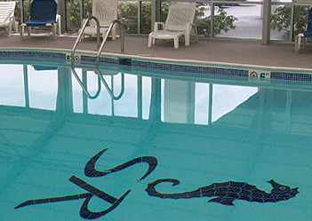 Indoor pool a tThe Sea Ranch Resort.