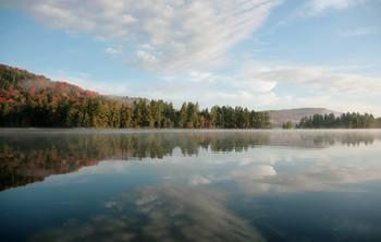 Scenic view at Big Moose Inn.
