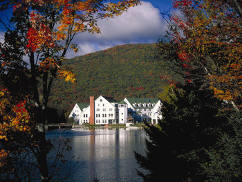 Exterior view at Waterville Valley Resort.