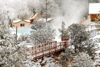 Scenic View at Mt. Princeton Hot Springs Resort