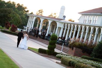 Wedding at Pinehurst Resort.