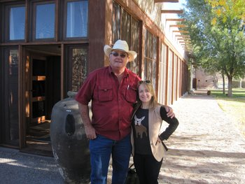 Family at Cibolo Creek Ranch.