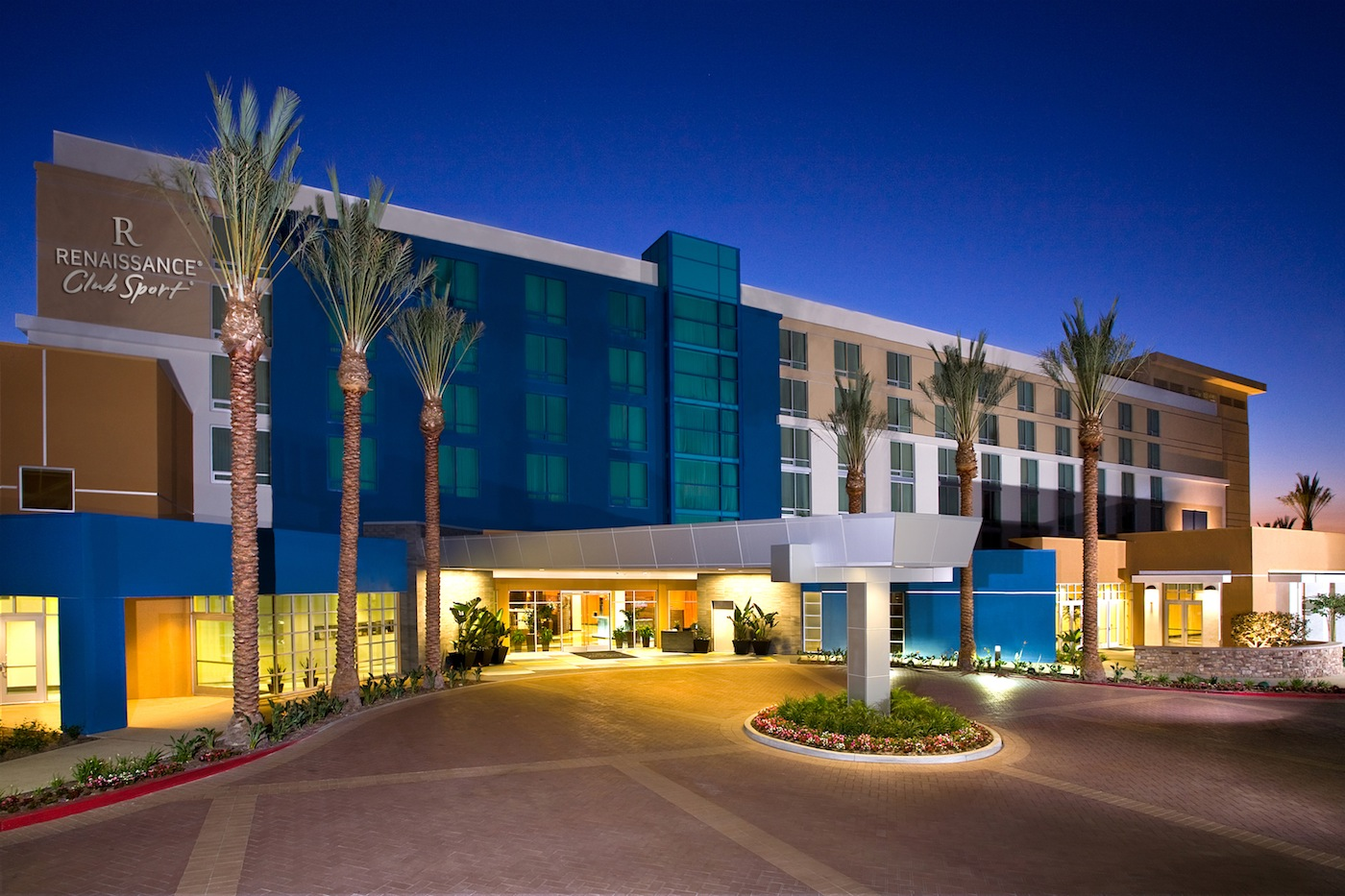 Exterior view of Renaissance ClubSport Aliso Viejo.