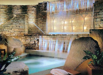 The spa at The Lodge at Woodloch.
