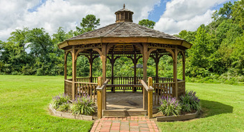 Gazebo at Westgate Williamsburg.
