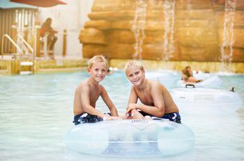 Water park fun at Chula Vista Resort.