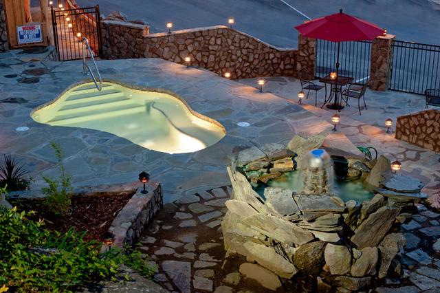 The esmeralda chimney rock village nc resort reviews for Pool and spa show charlotte nc