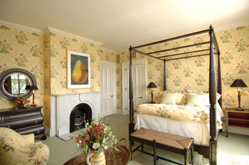 Bedroom at The Inns of Aurora.