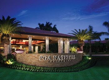 Exterior view of PGA National Resort & Spa.