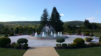 The Honor's Haven Water Fountain is a representation of our diversity and love of nature.
