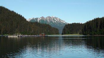 Lake view at Bear Paw Adventure.