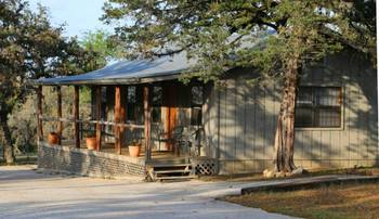Cabin exterior at West 1077 Guest Ranch.