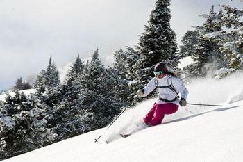 Skiing near Wort Hotel.