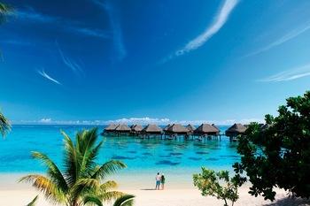 Exterior view of Sheraton Moorea Lagoon Resort & Spa.