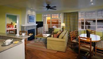 Suite interior at JW Marriott The Rosseau Muskoka Resort & Spa.