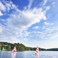Sailing at Woodloch Resort