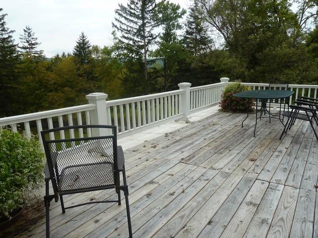 Deck view at Inn at Solvang.